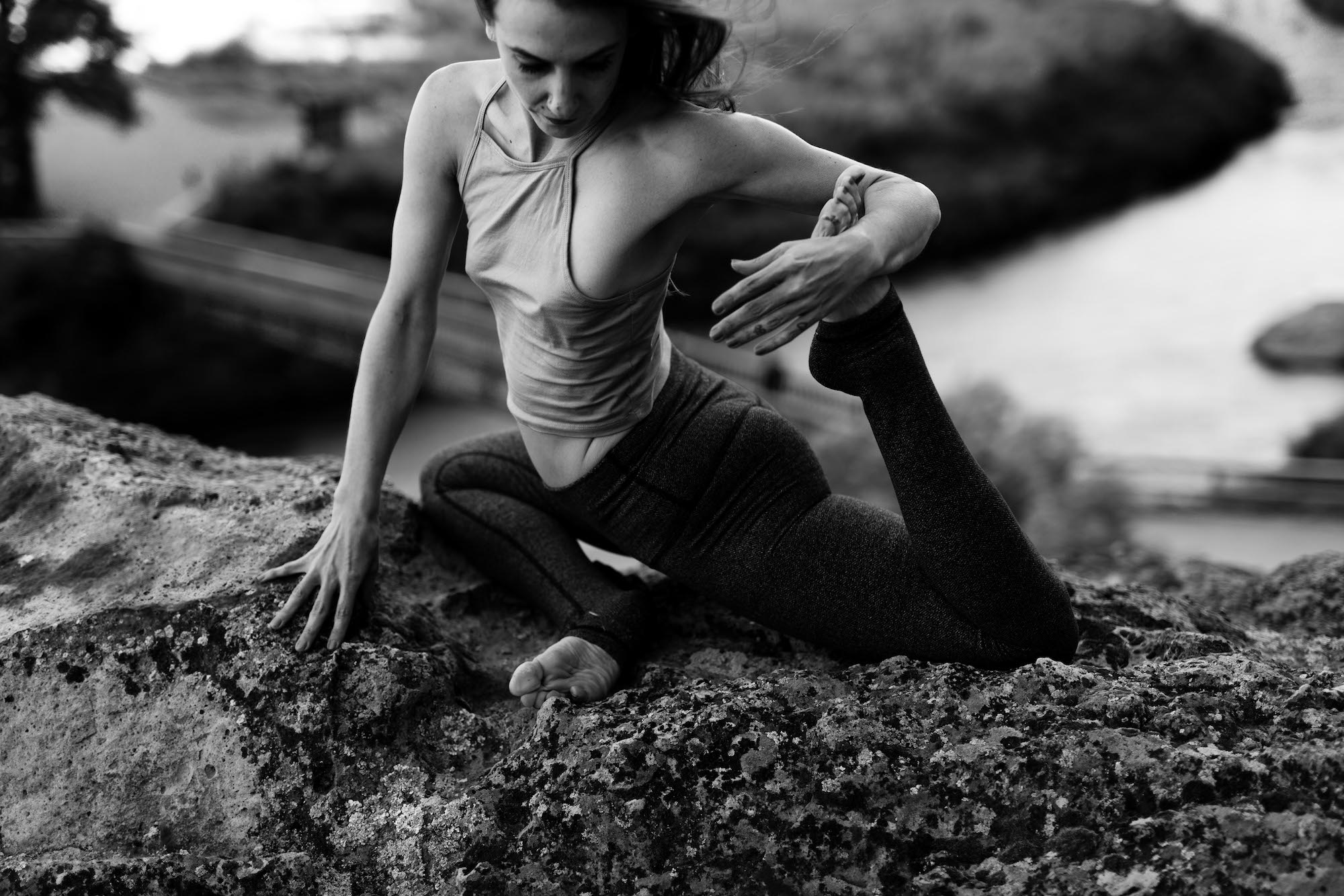 Smith Rock Yoga Photo Shoot