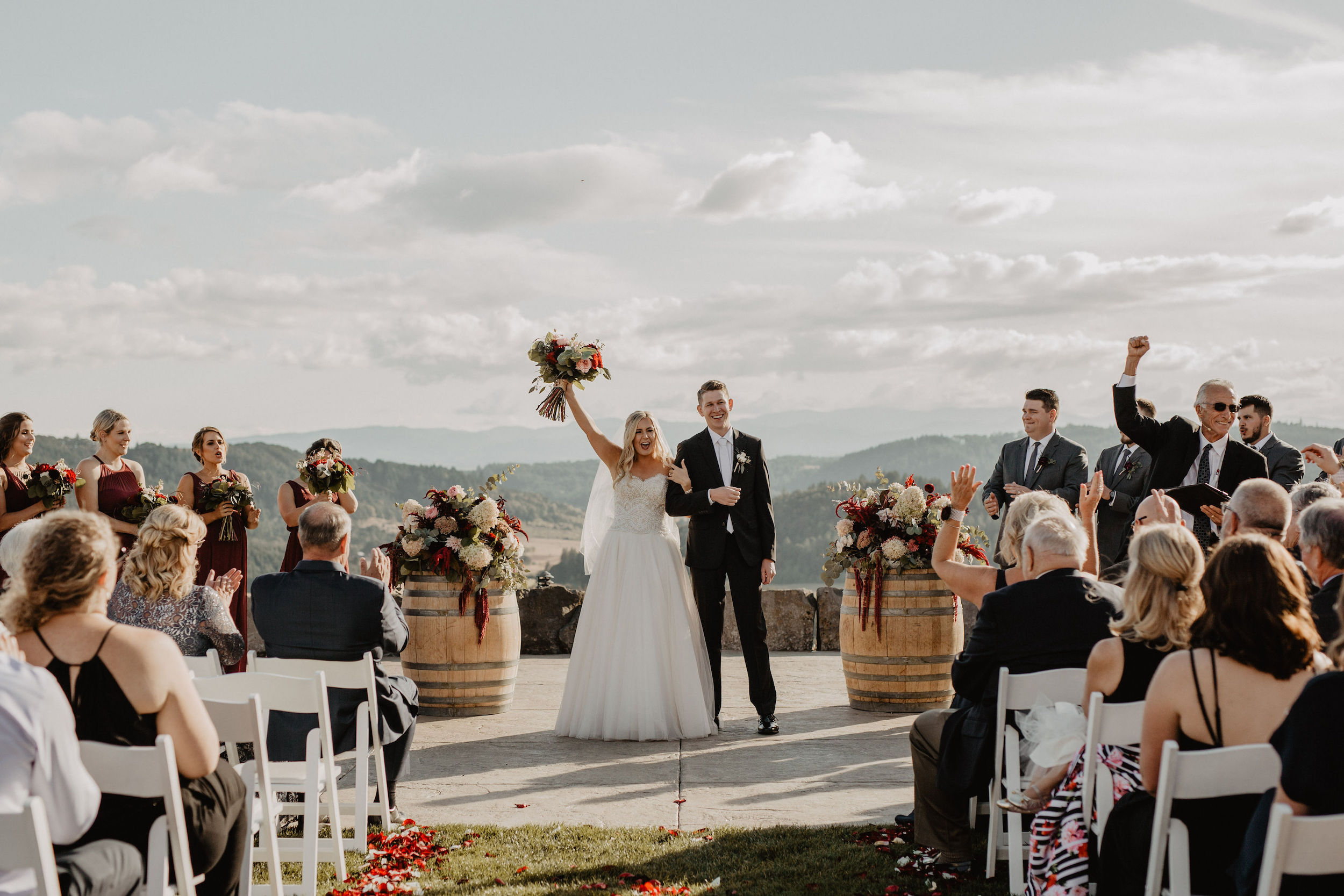 Youngberg Hill Winery - Dundee, Oregon wedding
